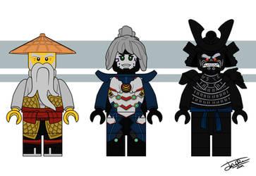 Realm of Madness: Wu, Pixal, and Garmadon