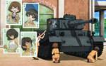 Girls und Panzer Leopon team Wallpaper