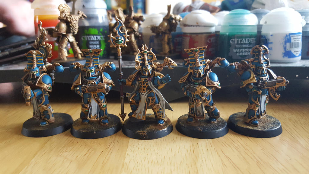 WiP 40k Thousand Sons by Chaos-Daemon