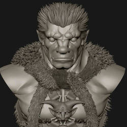 Nosferatu Zodd. by GVDigitalSculptor