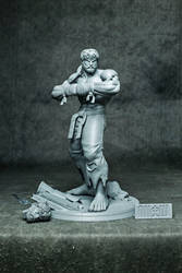 Battle Ryu ( resin statue )
