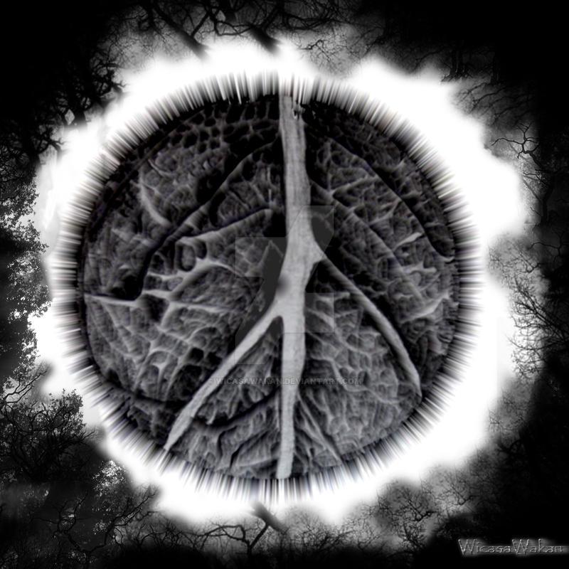 The dark eye of Gaia by WicasaWakan