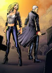 buffy and spike (Colors)
