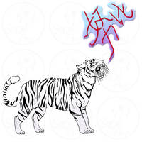 Commission: Tiger icon by SaQe