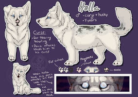 Character sheets: Holla by SaQe