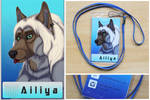 Commission: Ailiya -badge