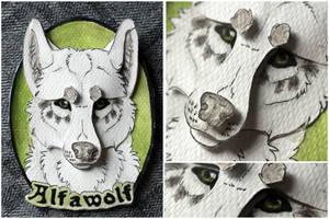 Commissions: 3D - Portrait - Alfawolf by SaQe
