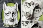 Commissions: 3D - Portrait - Alfawolf
