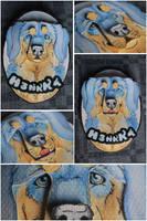 Commissions: 3D - portrait - H3nkk4 by SaQe
