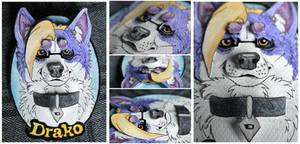 Commissions: 3D -portrait - Drako by SaQe