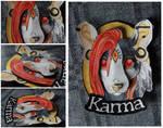 Commissions: 3D - Portrait - Karma by SaQe