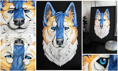 Commissions: 3D - Portrait - Keeba by SaQe