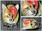 Commissions: 3D - Portrait - Ginger the Serval