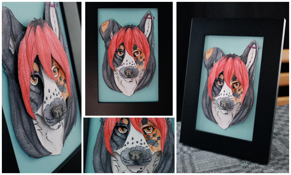 Commissions: 3D - Portrait - Lightikea by SaQe