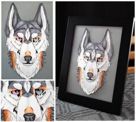 Commissions: 3D - Portrait - Zinare by SaQe