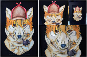 3D-Portraits: Sherlock Hound by SaQe