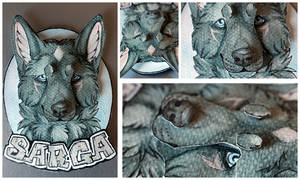 Commissions: 3D - Portrait - Sarga by SaQe