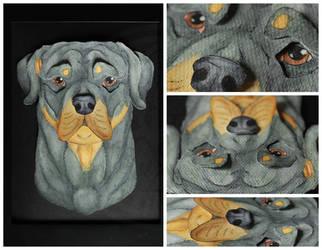 Commissions: 3D - Portrait - Scarlet by SaQe