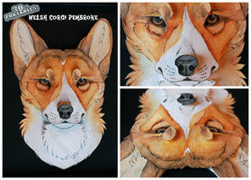 3D - Portraits: Pembroke Welsh Corgi by SaQe