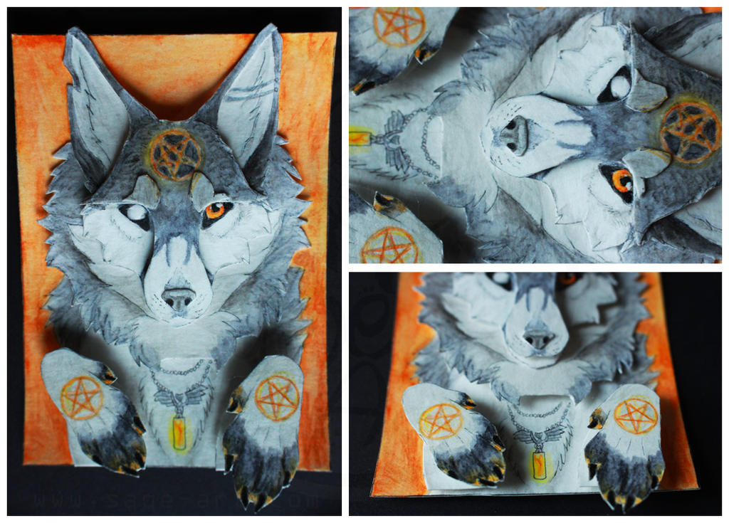 ACEO: Kurou (3D) by SaQe