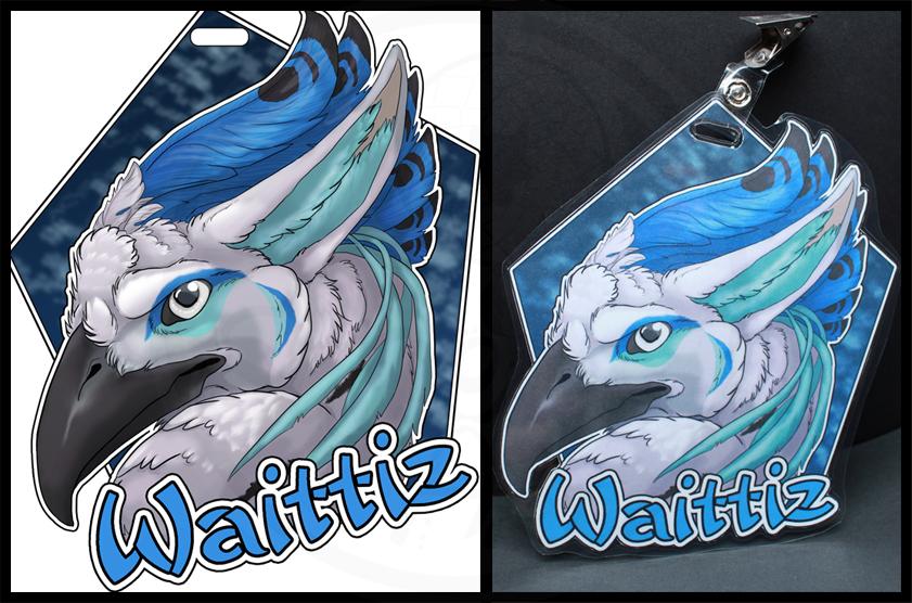 Badge for Waittiz by SaQe