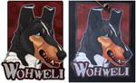 Commissions: Wohweli - badge by SaQe