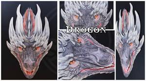 3D - Portraits: Drogon by SaQe