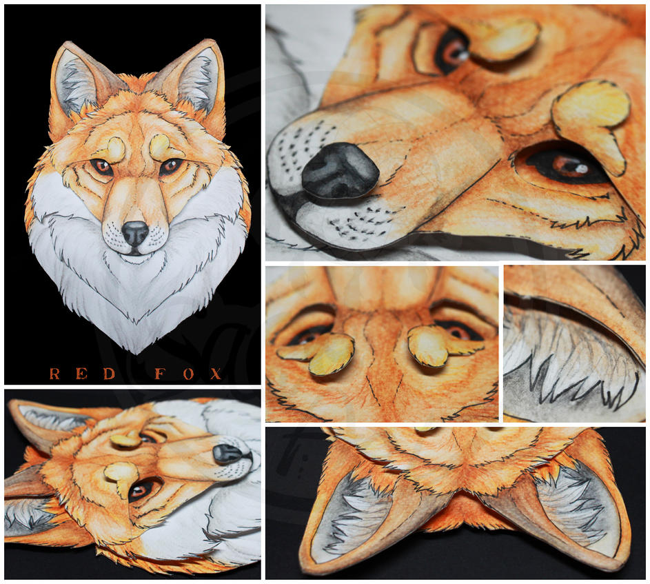 Commissions: Red Fox by SaQe