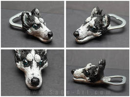 Commissions: Husky -bottle opener by SaQe