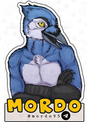 Commissions: Mordo - badge by SaQe