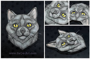 Commissions: 3D - Portrait - Loki by SaQe