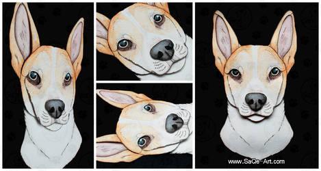Commissions: 3D - Portrait - Nelli by SaQe