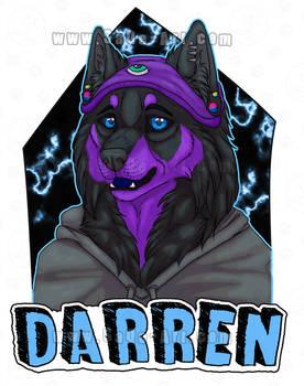 Commissions: Darren -badge