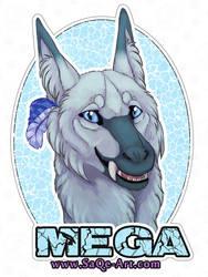 Commissions: Mega - badge