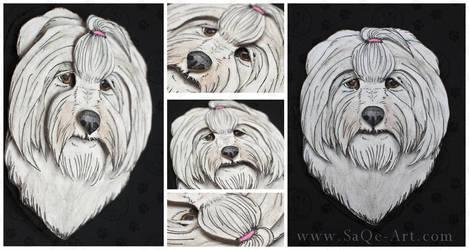 Commissions: 3D - Portrait - Hilma