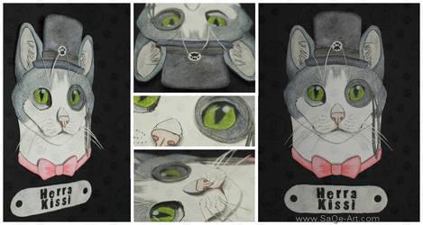 Commissions: 3D - Portrait - Gentleman cat