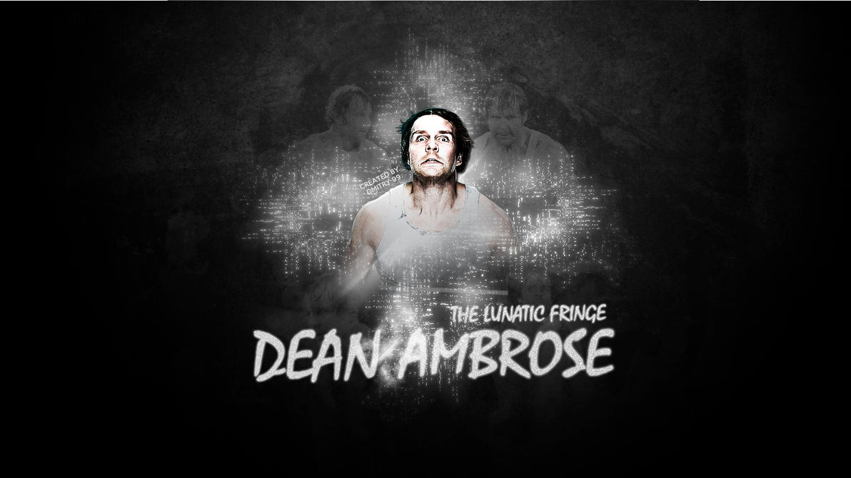 Dean Ambrose HD WallPaper By Dmitrykozin99
