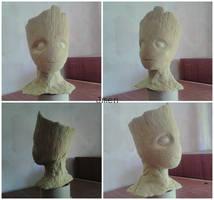 Baby Groot Sculpt by Jmen