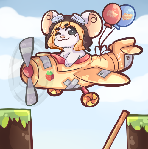 Transformice Avion by sweets7u7