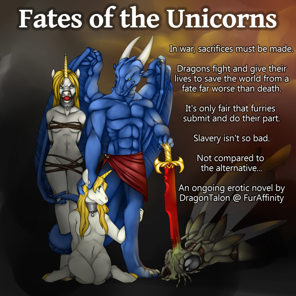 Fates of the Unicorns by MasterDragonTalon