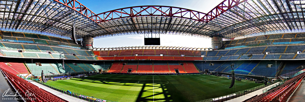 giuseppe meazza stadium milan by nightline on deviantart