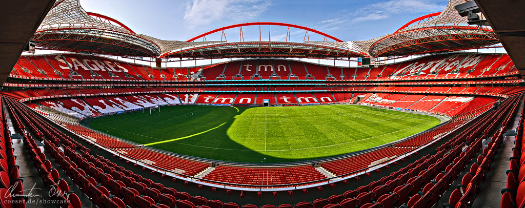 Estadio da Luz Lisbon by Nightline