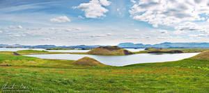 Myvatn, Iceland by Nightline