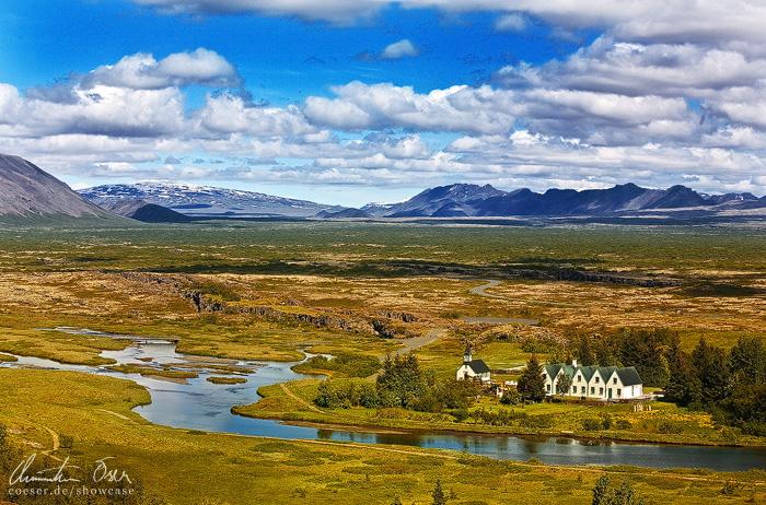 Thingvellir, Iceland by Nightline