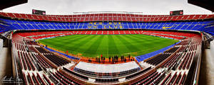 Nou Camp Stadium Barcelona 1