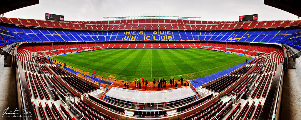 Nou Camp Stadium Barcelona 1 by Nightline