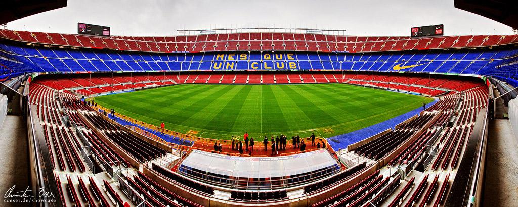 Nou Camp Stadium Barcelona 1 by Nightline