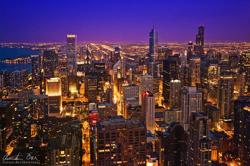 chicago night skyline wallpaper - photo #21
