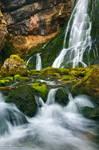 Waterfall Golling III by Nightline