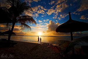 Calm sunset by Nightline